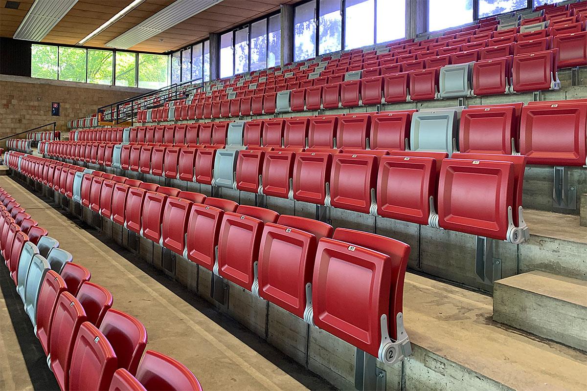 Große Sporthalle | Schwäbisch Gmünd | © Eheim Möbel